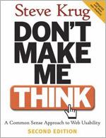 """Okładka książki """"Don't make me think"""""""