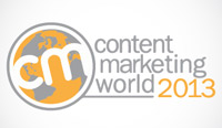 Content Marketing World 2013 logo