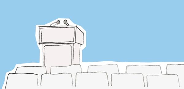 Szkolenie / Konferencja B2B (źródło: ilustracja własna)
