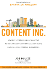 Książka Content Inc Joe Pulizzi