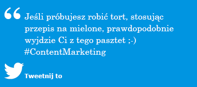 Metodologia content marketingowa to przepis