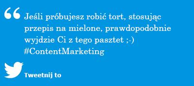 Metodologia content marketingowa to przepis