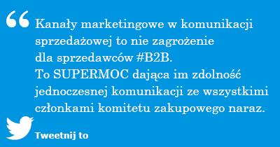 Komitet zakupowy - Kanały marketingowe w komunikacji sprzedażowej to nie zagrożenie dla sprzedawców #B2B.